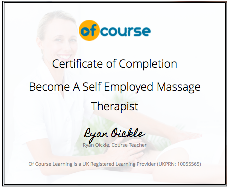 Massage Therapy Courses Uk